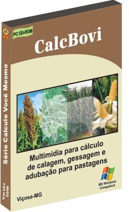 CalcBovi: Cálculo de calagem e adubação de pastagens
